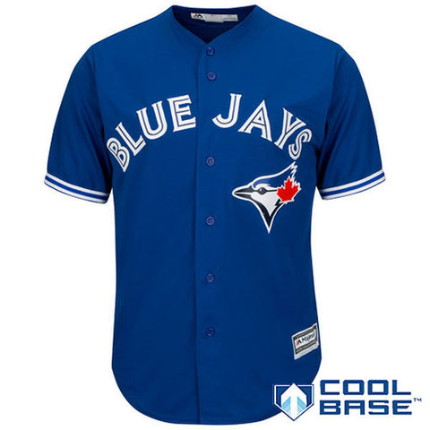 Toronto Blue Jays Majestic Athletic Cool Base Royal Blue Jersey
