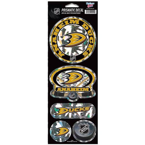 Anaheim Ducks Prismatic Decals
