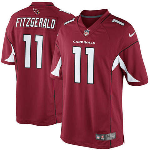 Arizona Cardinals Larry Fitzgerald Nike Red Limited Jersey