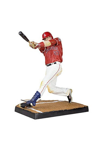 Los Angeles Angels Mike Trout McFarlane Figurine s33