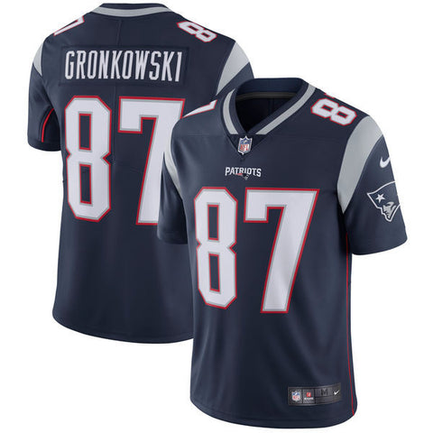 New England Patriots Rob Gronkowski Nike Navy Limited Jersey