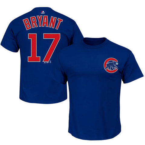 Chicago Cubs Kris Bryant #17 Jersey Shirt