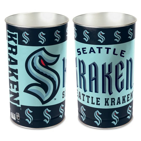 Seattle Kraken Wastebasket