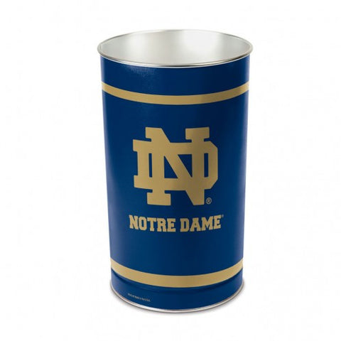 Notre Dame Fighting Irish 'ND Logo' Wastebasket 15""