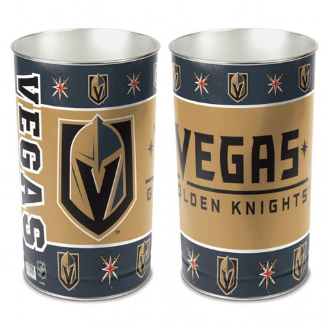 Vegas Golden Knights Wastebasket 15""