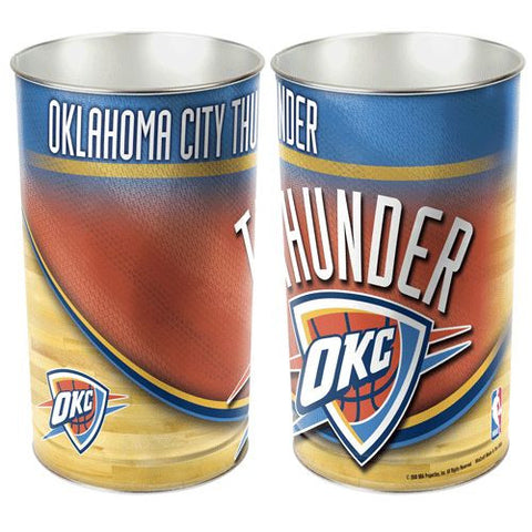 Oklahoma City Thunder Wastebasket 15""