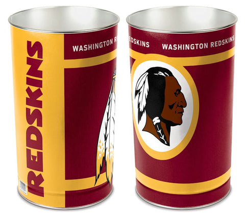 "Washington Redskins 15"" Waste Basket"