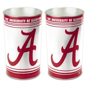Alabama Crimson Tide Wastebasket 15""