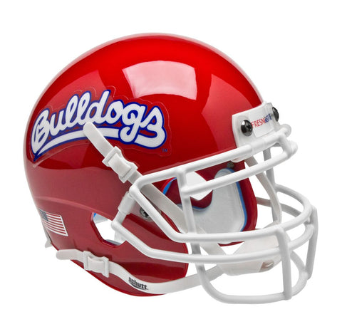 Fresno State Bulldogs Schutt Mini Helmet - Alternate Helmet #1
