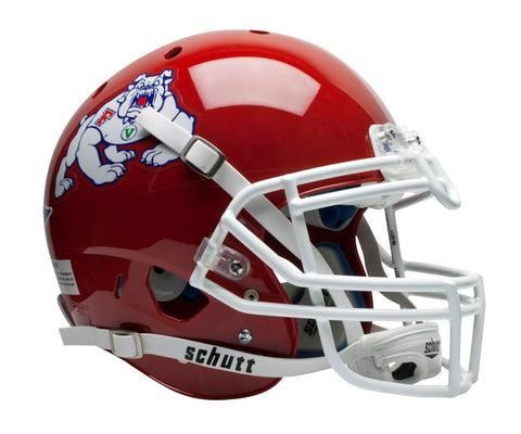 Fresno State Bulldogs Schutt XP Authentic Full Size Helmet