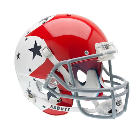 Air Force Falcons Schutt XP Full Size Replica Helmet - Alternate Helmet #1 w/ Blue Stars