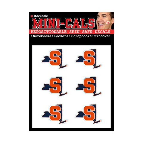 Syracuse Orange Face Cals Tattoos