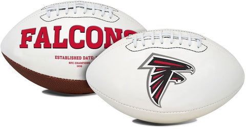 Atlanta Falcons Embroidered Signature Series Full Size Football