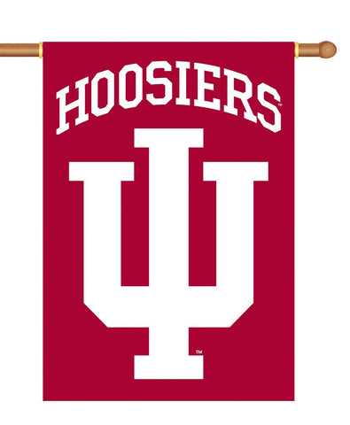 Indiana Hoosiers Banner 28x40 2 Sided