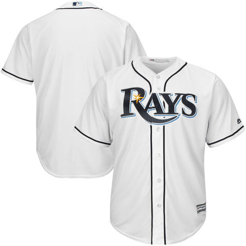 Tampa Bay Rays Majestic Athletic Cool Base Home Jersey
