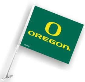 "Oregon Ducks ""O"" Car Flag"