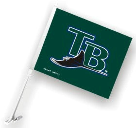 Tampa Bay Rays Car Flag