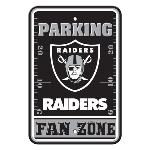 Oakland Raiders Sign Parking Sign 12x18""