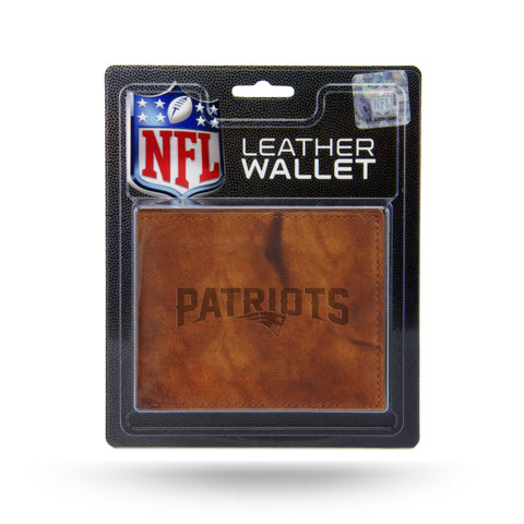 New England Patriots Leather Embossed Billfold