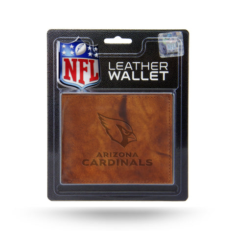 Arizona Cardinals Leather Embossed Billfold