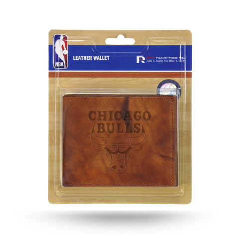Chicago Bulls Leather Embossed Billfold