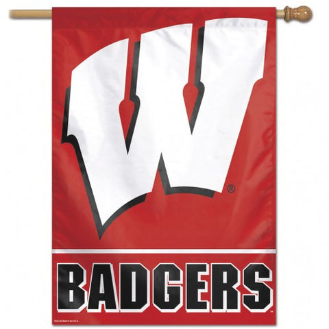 Wisconsin Badgers Banner 28x40