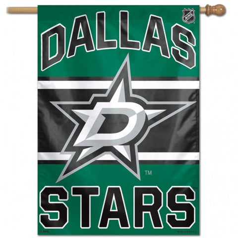Dallas Stars Banner 28x40 Vertical