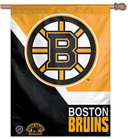 Boston Bruins Vertical Banner 27x37""