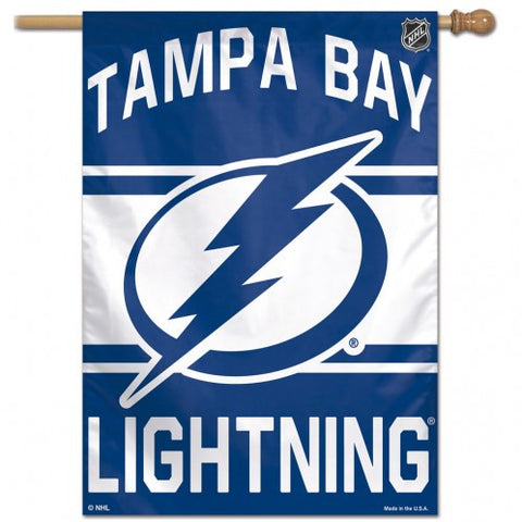 Tampa Bay Lightning Banner 28x40 Vertical