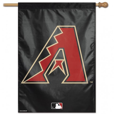 Arizona Diamondbacks Banner 28x40 Vertical Logo Design
