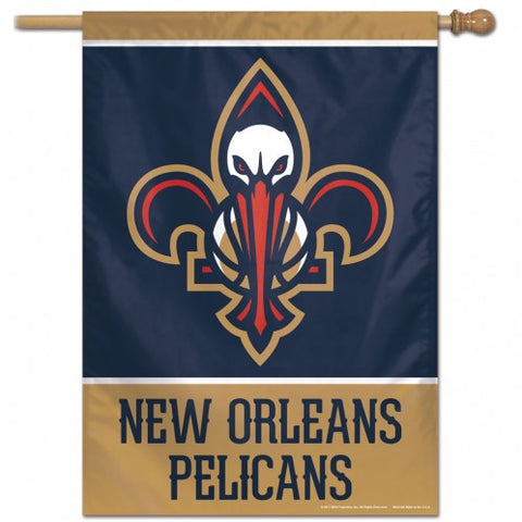 New Orleans Pelicans Banner 28x40 Vertical