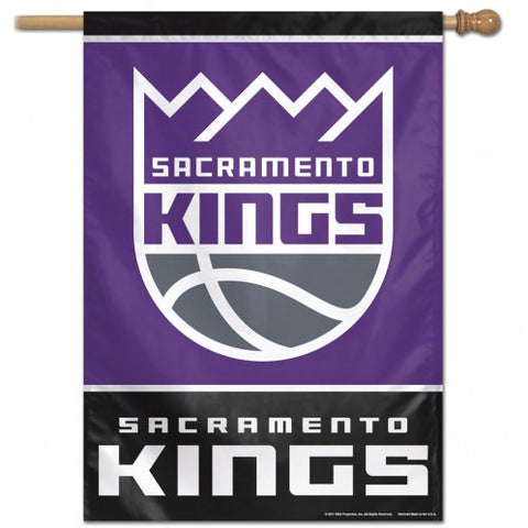 Sacramento Kings Banner 28x40 Vertical