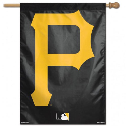 Pittsburgh Pirates Banner 28x40 Vertical Alternate Design