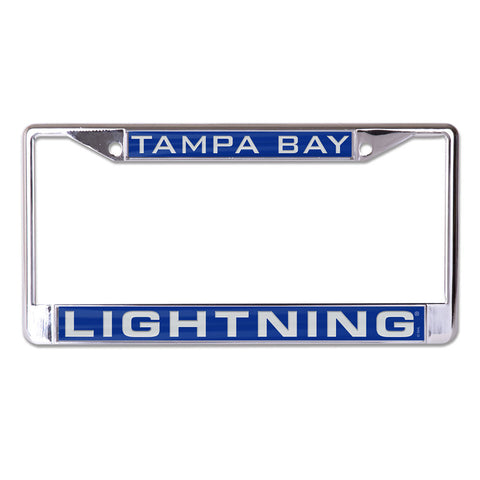 Tampa Bay Lightning License Plate Frame - Inlaid