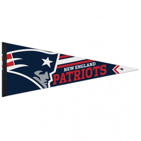 New England Patriots Pennant Premium Pennant 12x30""