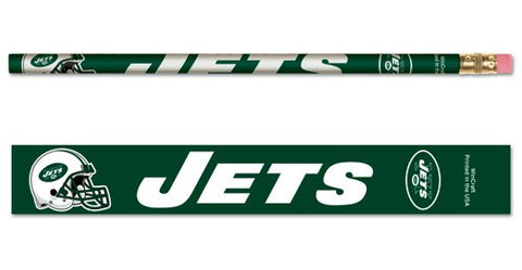 New York Jets Pencil 6 Pack