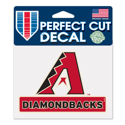 Arizona Diamond Backs Perfect Color Decal 4.5x5.75""