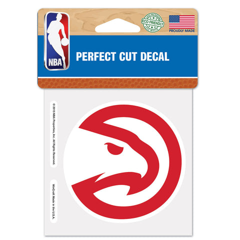 Atlanta Hawks Perfect Cut Color Decal 4x4""