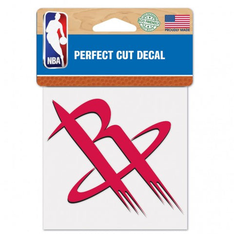 Houston Rockets Decal 4x4 Perfect Cut Color