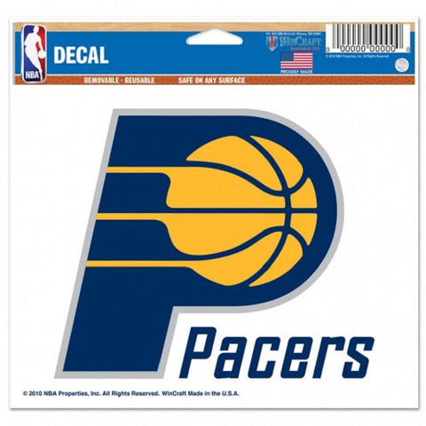 Indiana Pacers Decal 5x6 Ultra