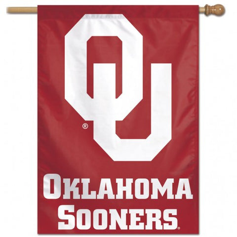 Oklahoma Sooners Banner 28x40 Vertical Second Alternate Design