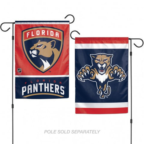 Florida Panthers Flag 12x18 Garden Style 2 Sided