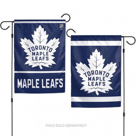 Toronto Maple Leafs Flag 12x18 Garden Style 2 Sided