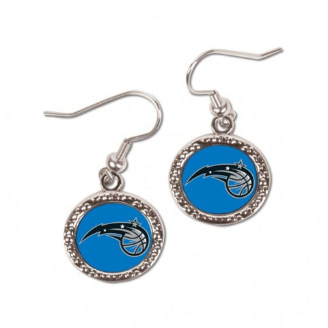 Orlando Magic Earrings Round Style