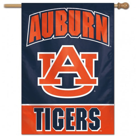 Auburn Tigers Banner 28x40 Vertical Alternate Design