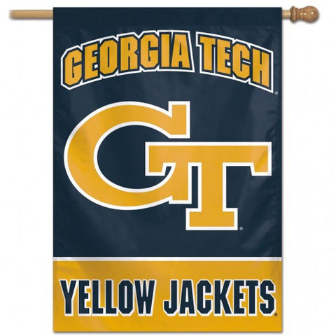 Georgia Tech Yellow Jackets Banner 28x40 Vertical