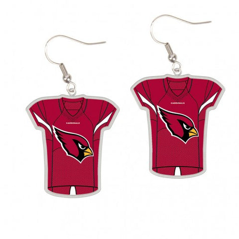 Arizona Cardinals Earrings Jersey Style