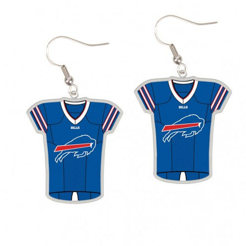 Buffalo Bills Earrings Jersey Style