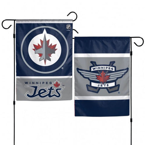 Winnipeg Jets Flag 12x18 Garden Style 2 Sided
