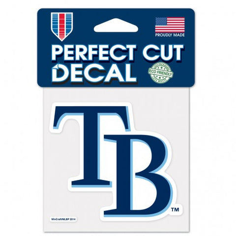 Tampa Bay Rays Perfect Cut Color Decal 4x4""